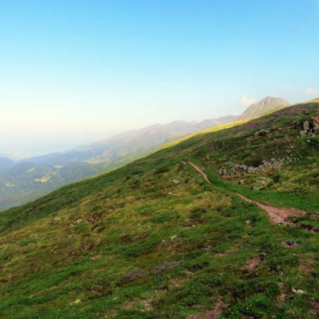 percorso Monte Spina per raggiungere il Monte Quaternà