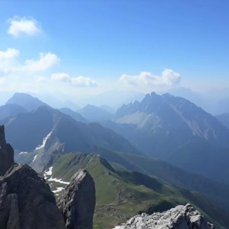 visuale da Monte Cavallino